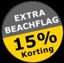 extra-beachflag-korting-trienko